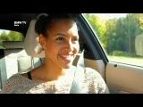 Auf Tour mit Cassandra Steen im neuen BMW 125i.