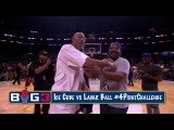 Lavar Ball vs Ice Cube 4 Point Contest   Big 3 Basketball