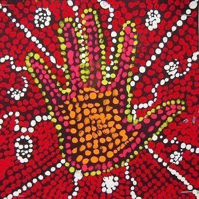 РИСОВАНИЕ Рисование по-аборигенскиЭто простое и увлекательное рисование очень полезно для развития воображения и укрепления пальчиков детской руки.Для него понадобится лист черной бумаги 20х20