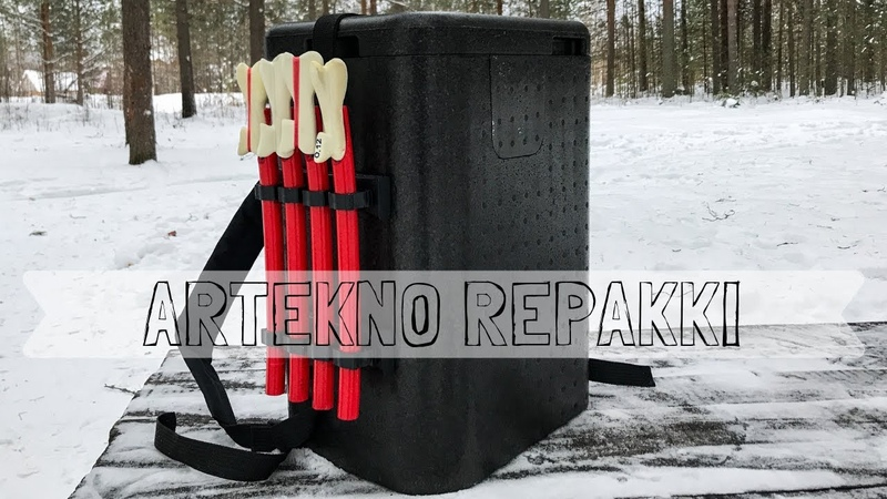 ARTEKNO REPAKKI Зимний ящик БЛЕСНИЛЬЩИКА Зимняя рыбалка 2019