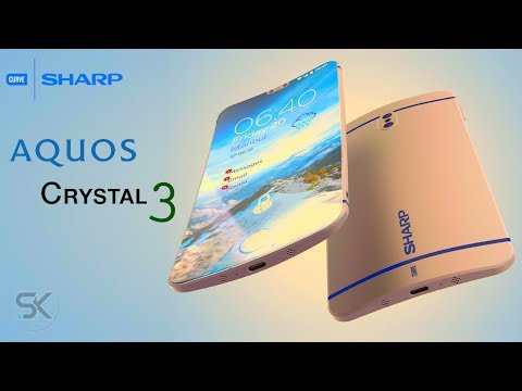 Curved SHARP Aquos Crystal 3 (2018) With 6.4-inch 18:9 Screen, 8GB RAM, SD 845 More - SAK