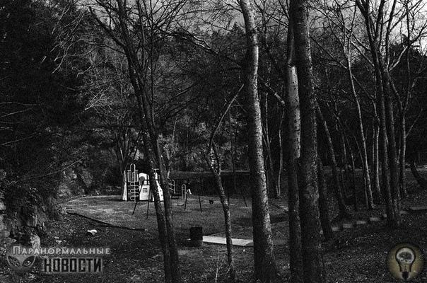 Игровая площадка мертвых детей Среди редкой рощи старых буковых деревьев рядом с кладбищем Maple Hill Cemetery, что в парке Hill Par Maple в городе Хантсвилл, штат Алабама, находится совсем
