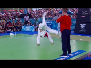 Сергей Bumblebee Чернышев. Победа на Юношеских Олимпийских играх в брейк-дансе