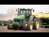 Тест-драйв трактора John Deere 8430