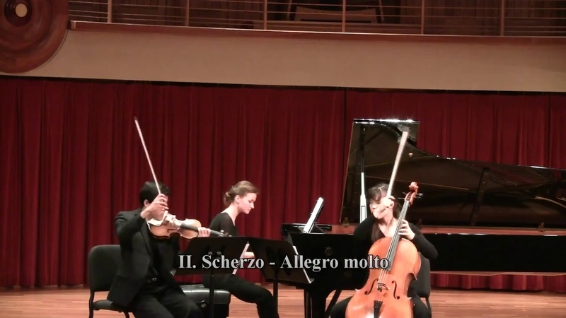 Anton Arensky, Piano Trio No 1 in D minor, Op 32, 1st and 2nd movement