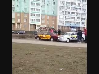 Авария на пересечении Ерёменко /Маршала Жукова.