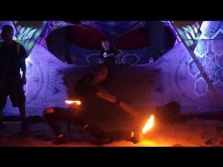 Света Сатья на Russian X-Mass в Гоа. Maavi Goa dance-trip.