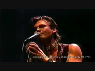 A-ha - the swing of things  (hd) - live, standard bank arena, johannesburg - 02-03-1994