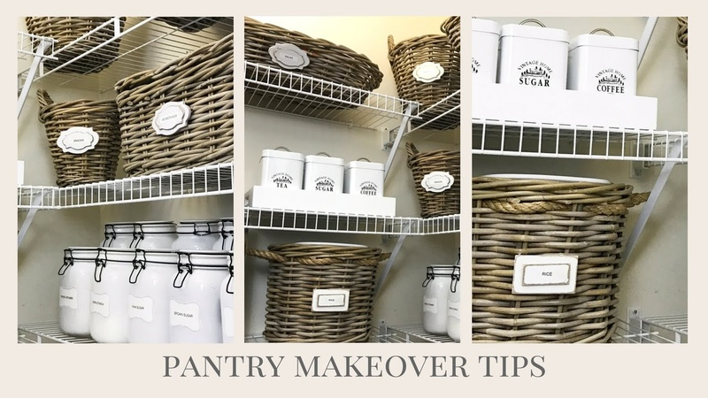 HOME ORGANIZATION | Easy Tips To Help Makeover Your Pantry