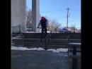 BMX Mark Burnett Grind Rail Ride