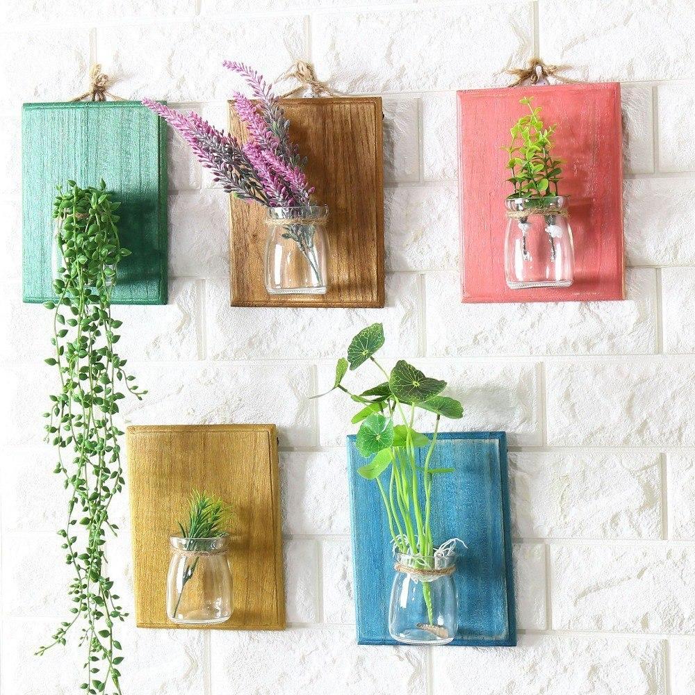 Декоративные настенные вазочки -