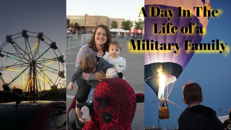 DAY IN THE LIFE of a Stay At Home Mom and Military Wife