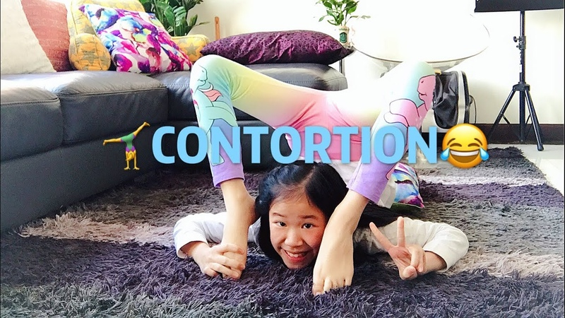 Trying Contortion | Rachie 🦄Unicorn