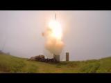 Пуски ракет по сложной скоростной воздушной цели расчетами ЗРК С-400