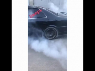Toyota chaser burnout