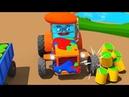 Tractor TOM Rápido Artista Nuevo Dibujo Animado Infantiles 1 hora Coches Para Niños