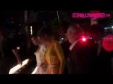 Gigi _u0026 Bella Hadid Brave The Rain While Arriving To Hotel Brooklyn Bridge During Fashion Week 9.9.18