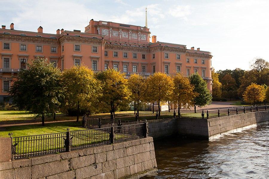 Санкт-Петербург экскурсия Михайловский замок. Северный фасад
