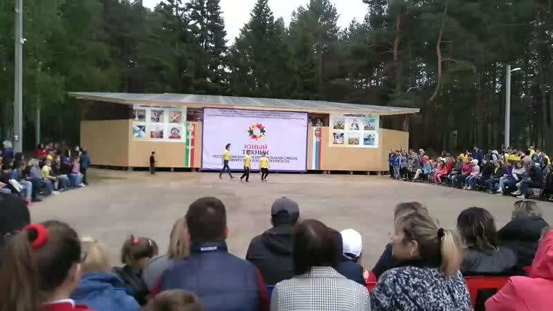 Лагерь Юный техник (июнь 2018)