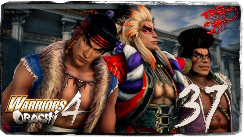 Story Mode ◄ Warriors Orochi 4 ► 37 Battle to be the First Spear