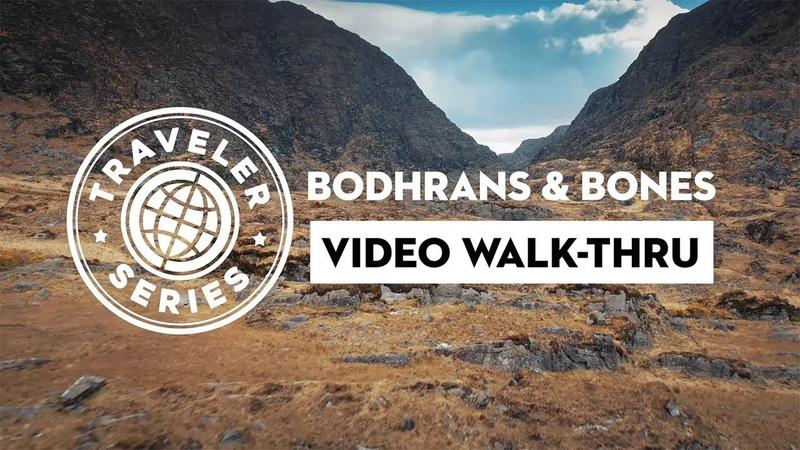 WALK-THRU for Traveler Series Bodhrans Bones