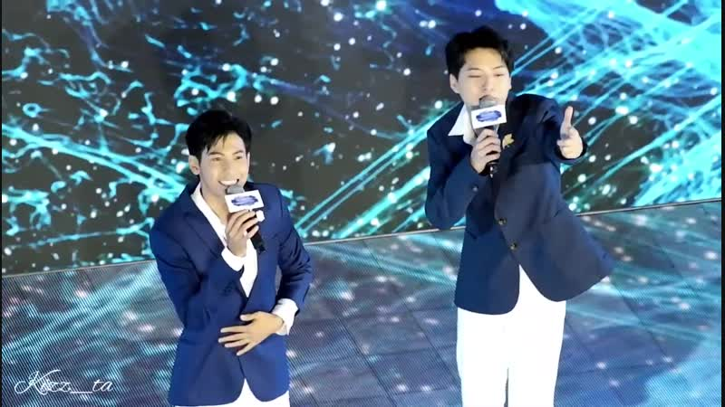 SINGTO KRIST - ทางของฝุ่น งาน BABY BRIGHT PRESENTS HEART OF THE OCEAN [291018]