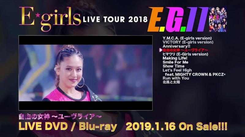 E-girls LIVE TOUR 2018 ~E.G. 11~ DVD Blu-ray ダイジェスト映像