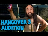Steve AOKI's The Hangover 3 Audition - Replacing Zach Galifianakis