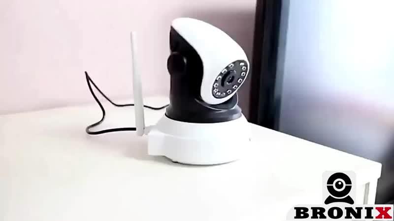 Пример работы камеры для помещений