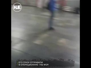 На Курском вокзале неадекват с ножом напал на пассажиров, есть пострадавшие
