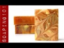 Pumpkin Pie Soap Recipe {in a slab mold} S2W27