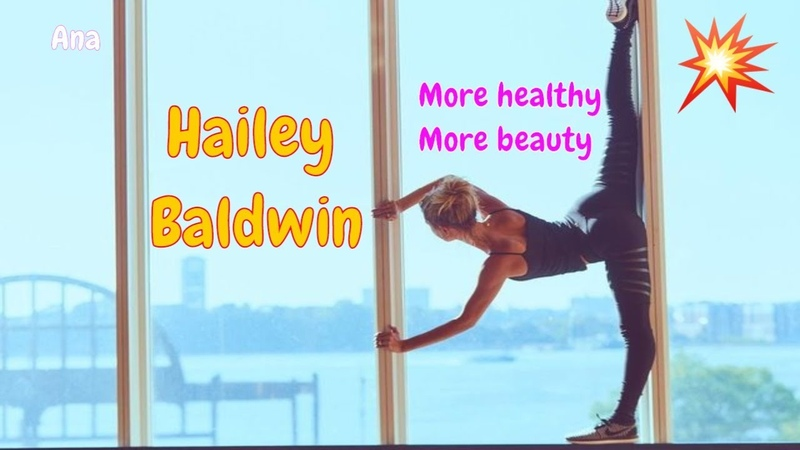Hailey Baldwin Incredible Workout | Gym | Excercive | Angle workout hard