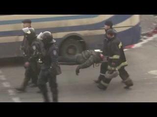 Человек без головы,man without head 18 02 2014 14 36 Ukranian Revolution Euromaidan