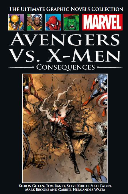 Marvel Официальная коллекция комиксов №133 - Мстители против Людей Икс. Последствия