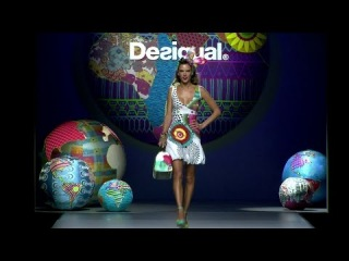 Madrid Fashion Week - Spring Summer 2015 Desigual  catwalk