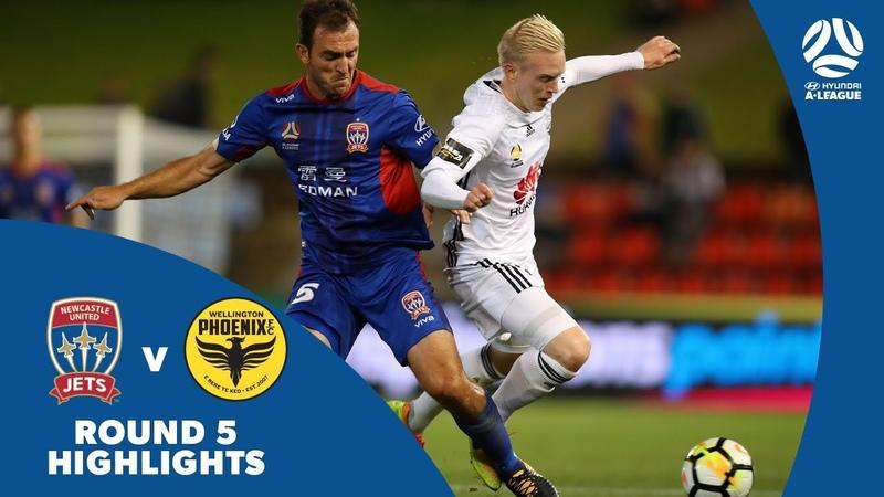 Hyundai A-League 201718 Round 5 Newcastle Jets 3 -0 Wellington Phoenix