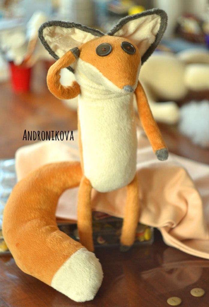 мягкая игрушка лисенок купить, лисенок из мультфильма маленький принц купить, игрушки ручной работы купить