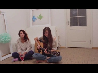 Hillsong - None but Jesus Только Иисус (Acoustic cover by Dasha&Iana)