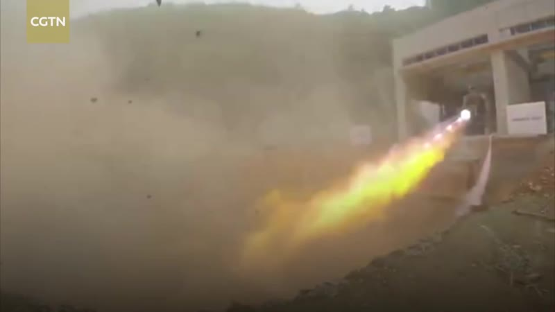 TQ-12Chinese private company finishes liquid rocket engine trial