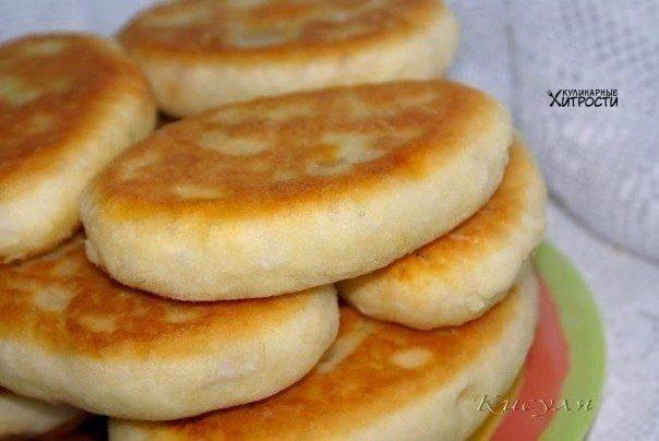 Пирожки с сочной мясной начинкой