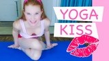 Yoga Kiss of Love Fitness Challenge Valentine's Day How To