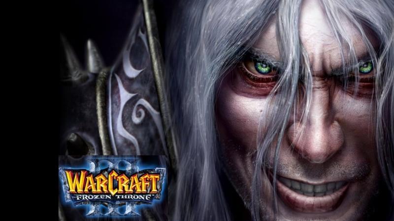 Warcraft III: The Frozen Throne Новичок, вспоминаю нежить, battlenet (RUS)