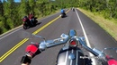Scenic Sturgis Riding Footage on Big Dog K9 Choppers