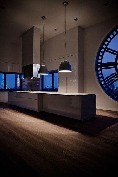 Непростые пространства: пентхаус в часовой башне в Нью-Йорке.