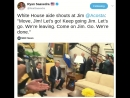 White House aide shouts at Jim @Acosta: Move, Jim! Let's go! Keep going Jim. Let's go. We're leaving. Come on Jim. Go. We're do