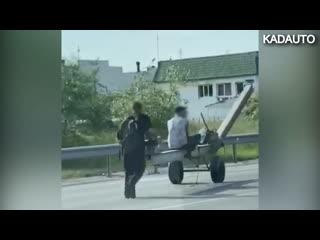 Случай на ул. Дзержинского в Калининграде.