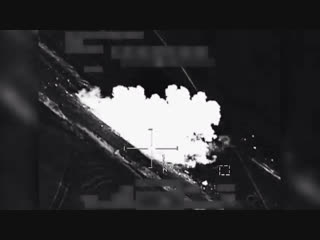 Удар ВВС Коалиции по боевикам ИГ
