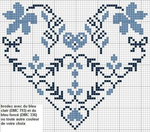 Схеми для вишивки хрестиком до