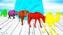 МУЛЬТФИЛЬМ ВОЛШЕБНЫЙ ВОДОПАД ЯБЛОКИ МОРОЖЕНОЕ ЦВЕТНЫЕ Коровы Лошади Птицы Дикие Животные НАЗВАНИЯ