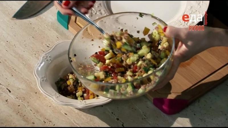 Кто готовит — тот не моет / 16.Мадам Крупская салат и запеканка из гречневой крупы.